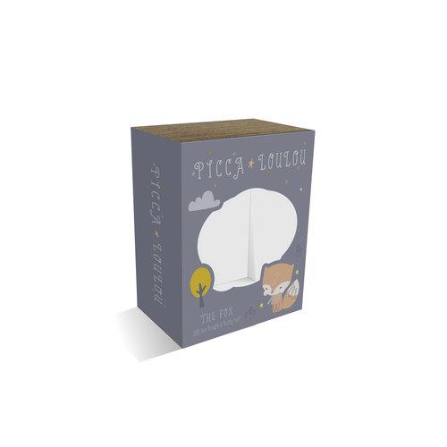 Picca LouLou Blauw Vosje in giftbox