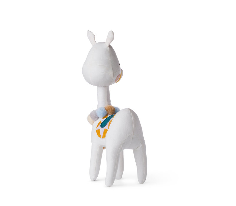 Lama wit in gift box