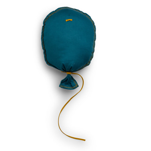 Picca LouLou Ballon Petrol/Blauw MuurDecoratie