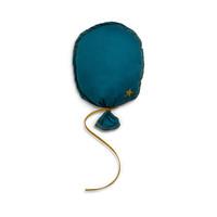 Ballon Petrol/Blauw MuurDecoratie