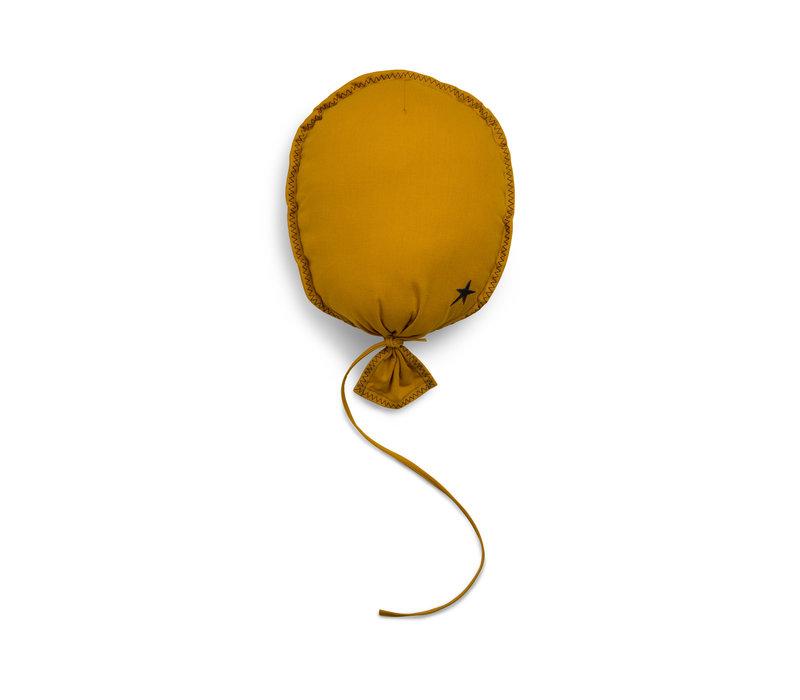 Ballon Oker Geel Muurdecoratie
