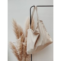 Natural Linen Look Mom-bag