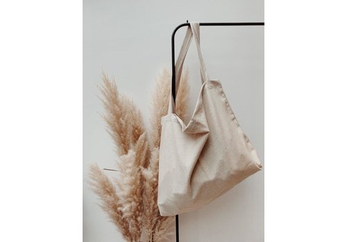 Studio Noos Natural Linen Look Mom-bag
