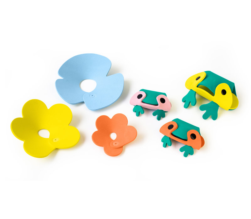 Quutopia 3D puzzel Kikker