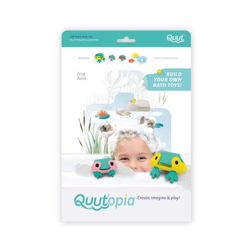 Quutopia Badpuzzel 3D puzzel Kikker