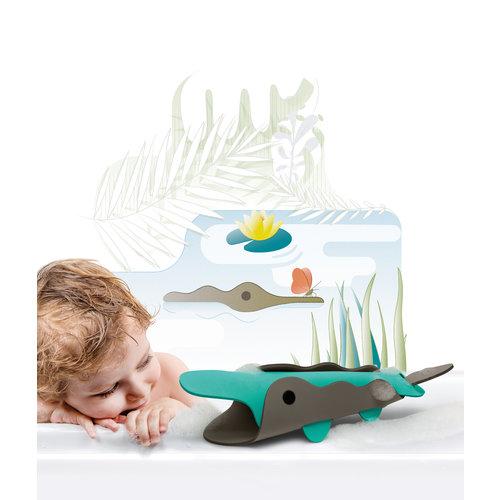 Quutopia Badpuzzel 3D puzzel Krokodil