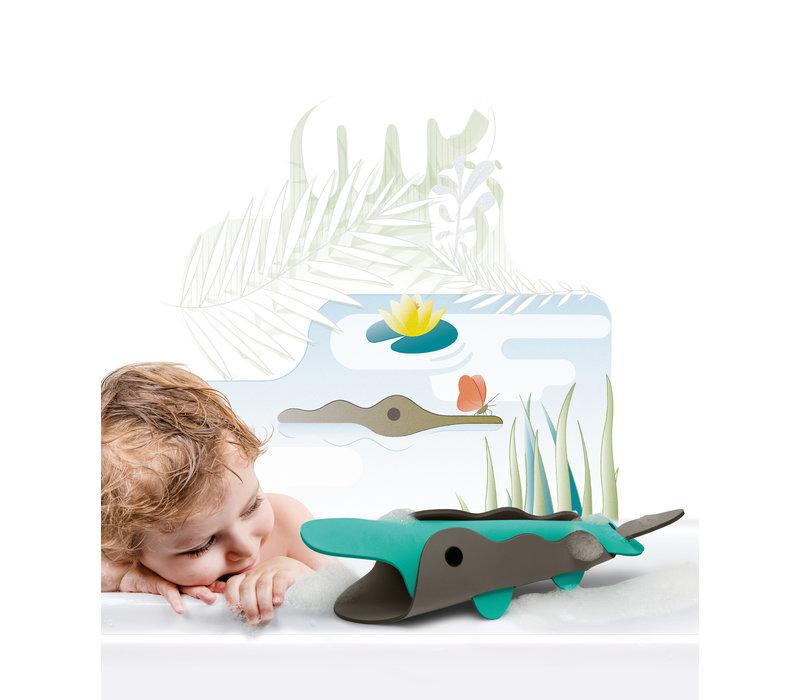 Quutopia 3D puzzel Krokodil