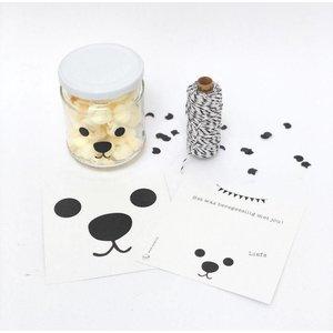 SuzyB Traktatiekaartje Bear