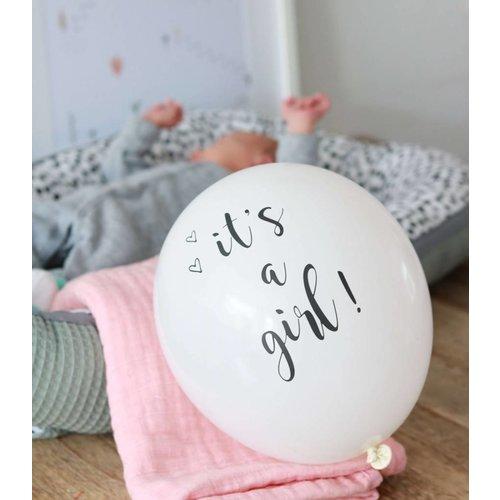 SuzyB Ballonnen it's a girl