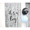 SuzyB SuzyB Raamsticker it's a boy