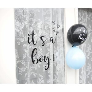 SuzyB Geboortesticker it's a boy