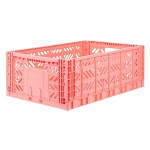 Aykasa Vouwkrat midi salmon pink
