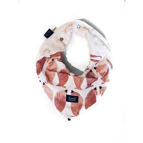 La Millou Slabbetje roze pinguins