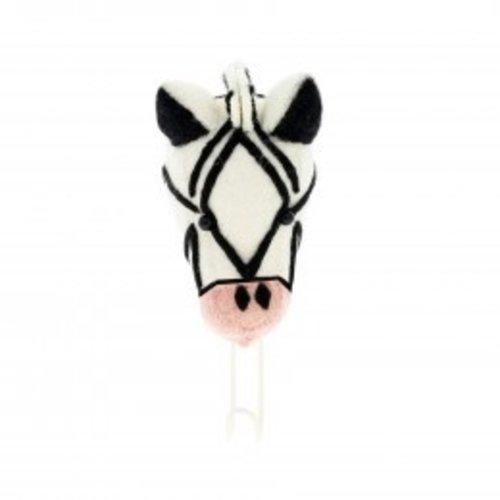 Fiona Walker Pink Nose Zebra Large Hook