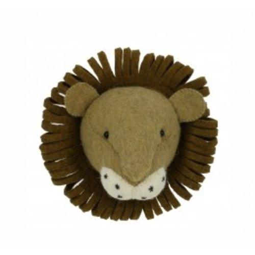 Fiona Walker Dierenkop Leeuw Mini