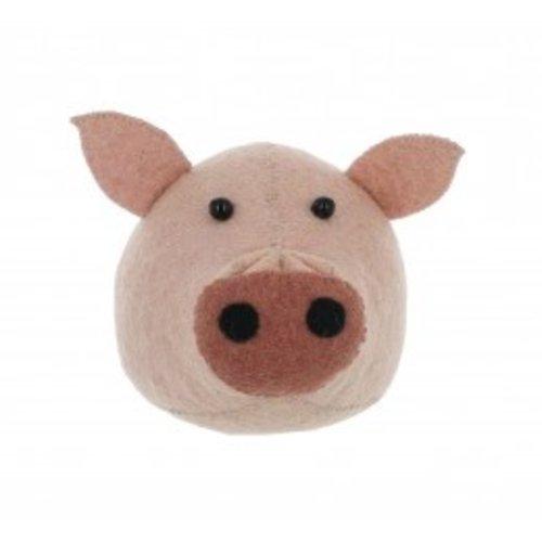 Fiona Walker Pig Head mini