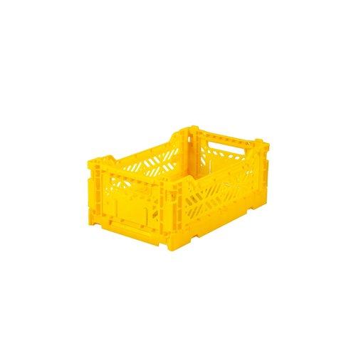 Aykasa Vouwkrat midi yellow