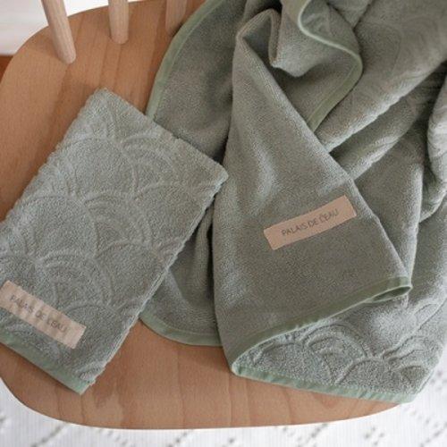Palais de L'eau Washcloth pastel green (3 pieces)