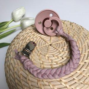 Cotton Design Pacifier Blush