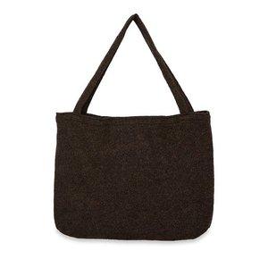 Studio Noos Urban Wood Woollish Mom Bag (BROWN)