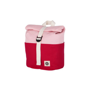 Blafre Roll Top Backpack 9,5L red + pink