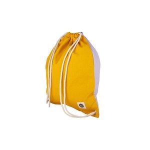 Blafre Gym/ Zwemtas yellow + light purple