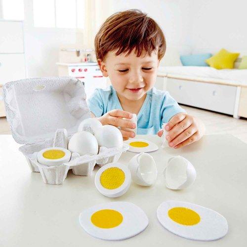 HAPE Eieren en eierdoosje