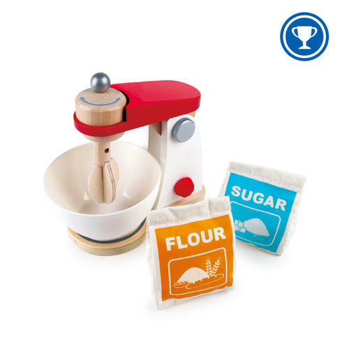 HAPE Houten Mix en Cake Blender