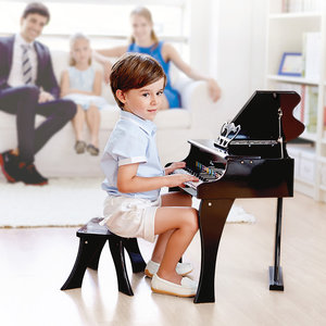 HAPE Houten Piano Black
