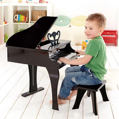 HAPE Houten vleugel Piano zwart