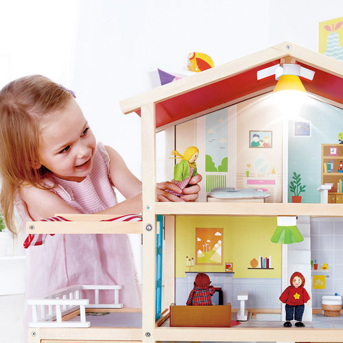 HAPE Houten Poppen Huis