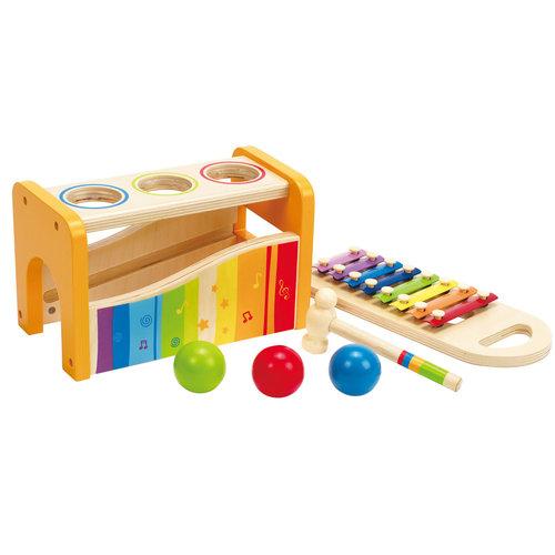 HAPE Houten Xylofoon en Hamer met ballen