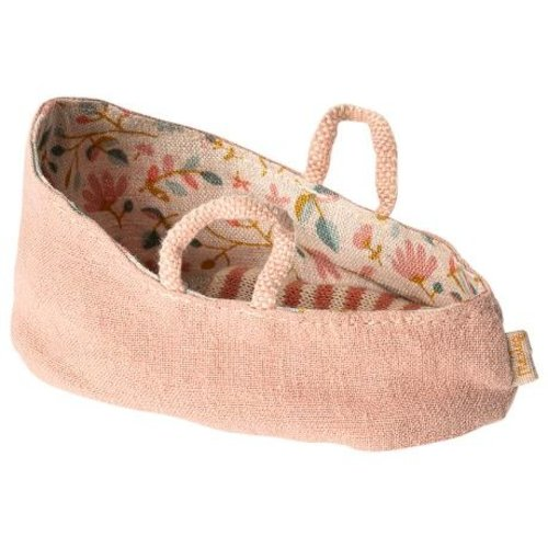 Maileg  My carry cot misty rose