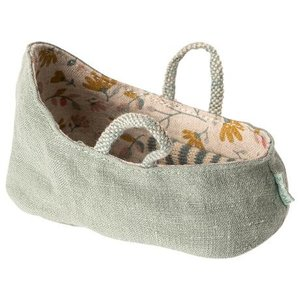Maileg  My Carry cot dusty green