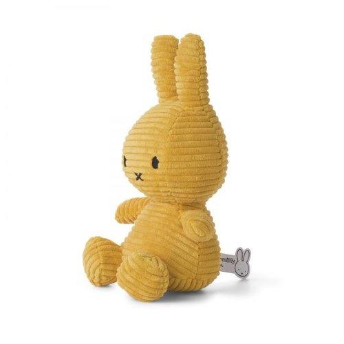 Nijntje Miffy Nijntje Miffy Rib Geel 23cm