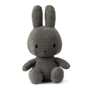 Nijntje Miffy Miffy Corduroy Grey 50cm