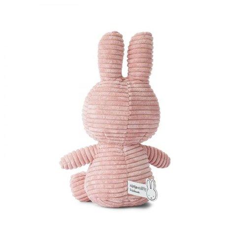 Nijntje Miffy Nijntje Miffy Rib Roze 50cm
