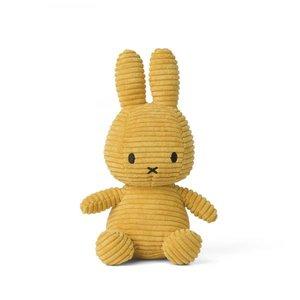 Nijntje Miffy Miffy Corduroy Yellow 50cm