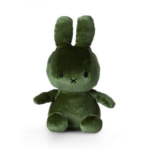 Nijntje Miffy Miffy Velvet Moss Green 23cm