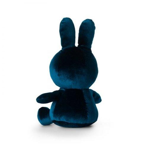 Nijntje Miffy Nijntje Miffy Fluweel Donker Blauw 23cm
