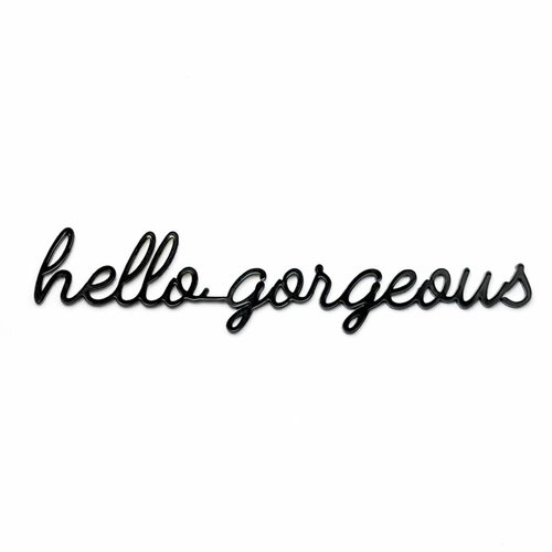 Goegezegd A5 kaart quote Hello Gorgeous