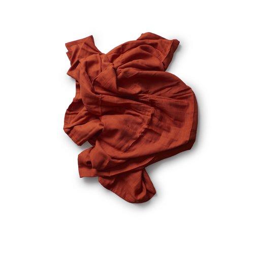 Play At Slaep XL cloth (120x120) Hydrofiel Luier Clay (roest bruin)