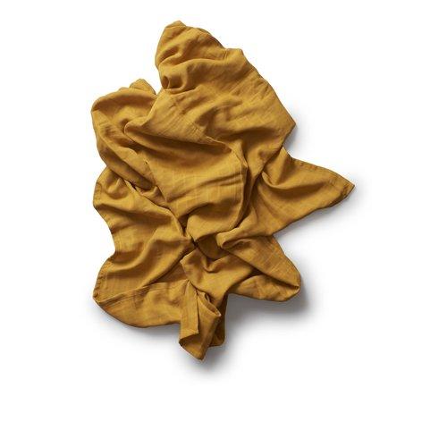 Play At Slaep XL Cloth, Hydrofiel Luier (120x120cm) Autumn glory (mosterd geel)