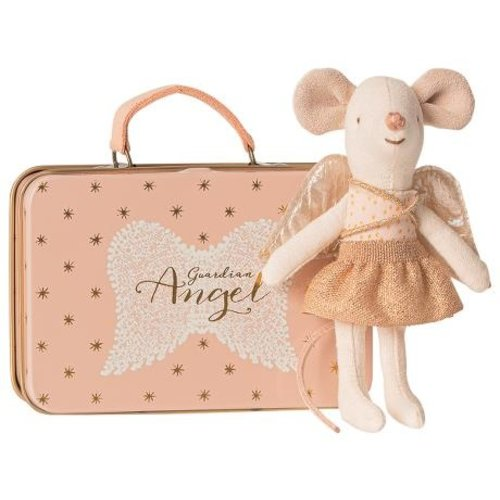 Maileg  Angel in Suitcase, little sister Mouse