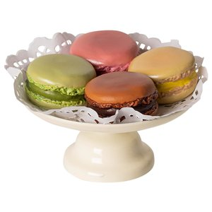 Maileg  Macarons op plateau