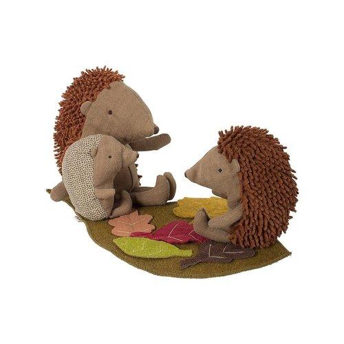 Maileg  Baby Hedgehog with leaf