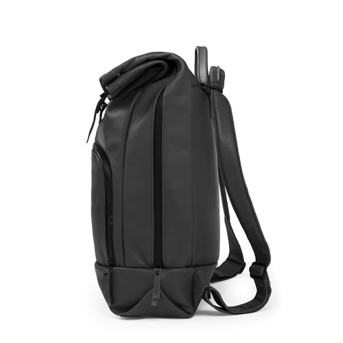 DUSQ Family Bag, Eco Leather, Night Black