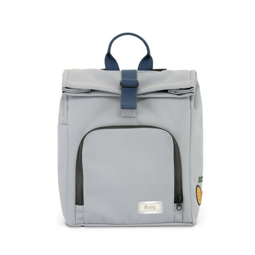 DUSQ Mini Bag, School Bag, Gerecycled PET Canvas, Cloud Grey