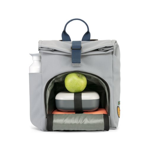 DUSQ Mini Bag, Schoolbag, Gerecycled PET Canvas, Night Black