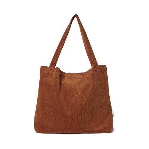 Studio Noos Brown-ie Rib Mom Bag